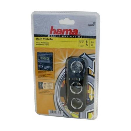 Купить Разветвитель прикуривателя Hama H-86043