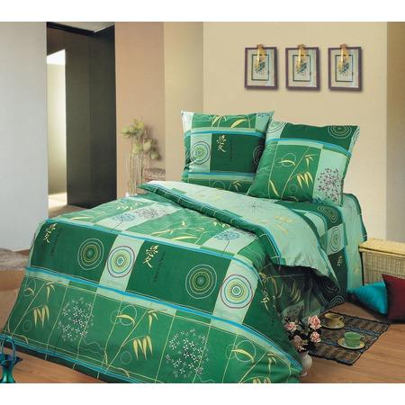 Купить Комплект постельного белья Сова и Жаворонок «Икебана» 9129. Евро