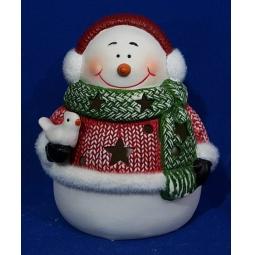 фото Светильник декоративный Новогодняя сказка «Снеговик» 972062