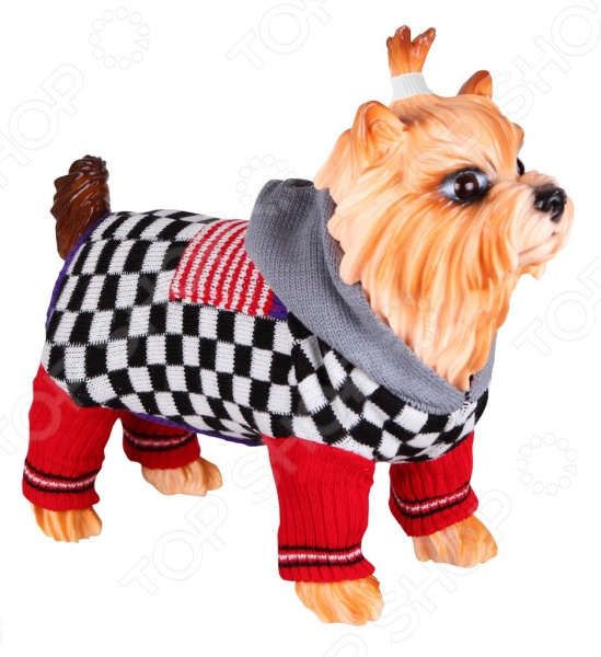 Свитер для собак DEZZIE 562514 свитер попона для собак dezzie 563560