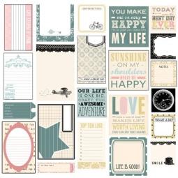 фото Лист с карточками-вырубками Melissa Frances Classic Elegance