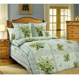 фото Комплект постельного белья Белиссимо «Ландыши». 1,5-спальный
