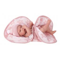 фото Кукла-младенец Munecas Antonio Juan «Мари в розовом»
