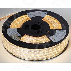 Лента светодиодная Эра 3528-220-60LED-IP67-WW-eco-25m