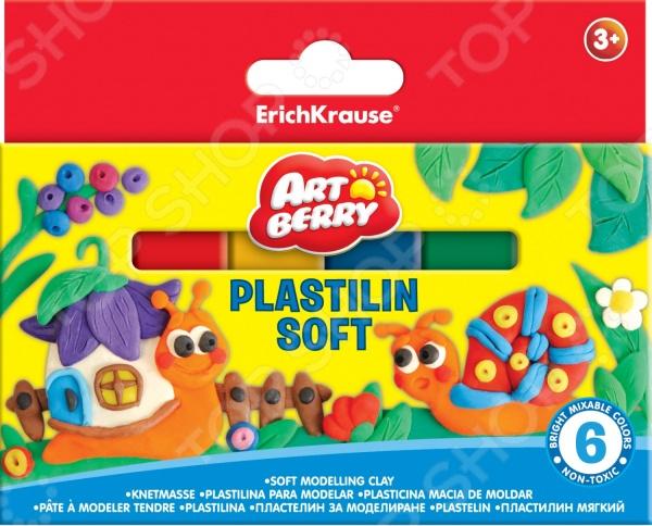 Набор пластилина мягкого Erich Krause 33300