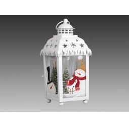 фото Фонарь рождественский Holiday Classics со снеговичками 1709360