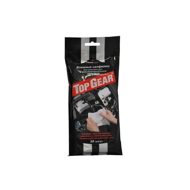 фото Набор салфеток влажных для рук очищающих антибактериальных Авангард TG-48040 Top Gear