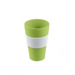 фото Стакан для горячих напитков Lurch с защитной накладкой. Цвет: зеленый