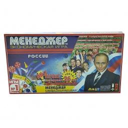 фото Настольная игра ПетроПан «Менеджер России»