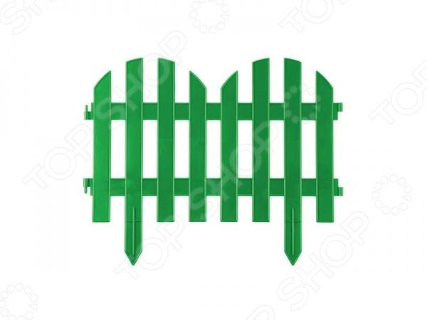 Забор декоративный Grinda «Палисадник» 422205 Забор декоративный Grinda 422205-G /Зеленый