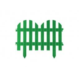 фото Забор декоративный Grinda «Палисадник» 422205. Цвет: зеленый