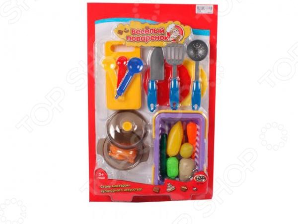 Игровой набор для девочки PlaySmart «Веселый поваренок» Р41343 playsmart р40839