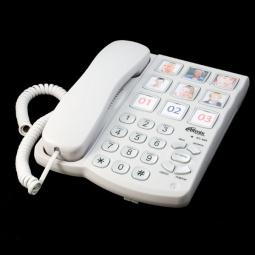 фото Телефон Ritmix RT-500. Цвет: белый