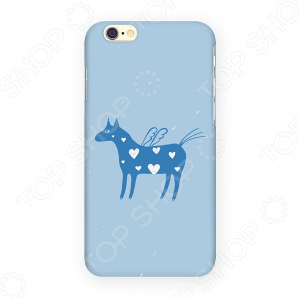 Чехол для iPhone 6 Mitya Veselkov «Крылатая лошадка» чехлол для ipad iphone mitya veselkov чехол для iphone 6 гагарин ip6 мitya 016