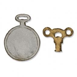 фото Форма для вырубки на магнитной основе Sizzix Movers & Shapers Die Заводной ключ и указующий перст