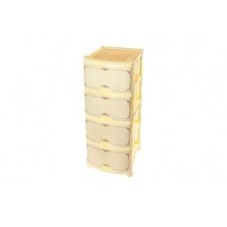 Купить Комод 4-х секционный Violet 0352 «Беленый дуб»