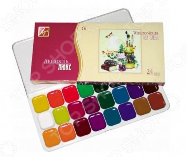 Акварель медовая Луч «Люкс»: 24 цвета