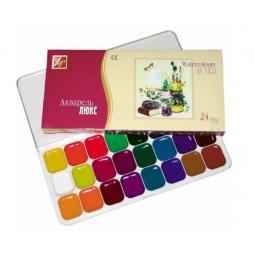 Купить Акварель медовая Луч «Люкс»: 24 цвета