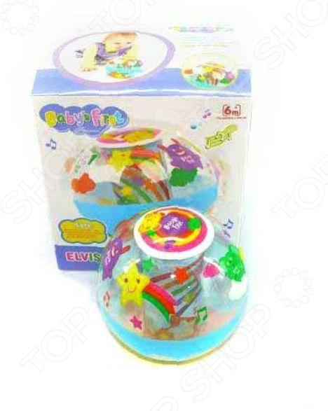 Неваляшка Shantou Gepai 869-31Неваляшки<br>Неваляшка Shantou Gepai 869-31 прекрасная игрушка, которая относится к категории самообучающих игрушек. Вам не надо учить малыша играть с ней, он самостоятельно поймет что нужно делать. Яркие и красочные цвета, приятное мелодичное звучание при каждом движении вызывает у малыша желание постоянно дотрагиваться и катать неваляшку. Игрушка будет незаменима в развитии логического мышления ребенка, координации движений, мелкой моторики рук, цветового и тактильного восприятия. Неваляшка в виде простого шарика с яркими рисунками выполнена из качественных материалов, которые совершенно безопасны для детского здоровья.<br>