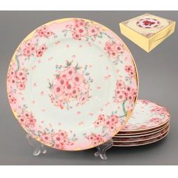 Купить Набор обеденных тарелок Elan Gallery «Сакура»