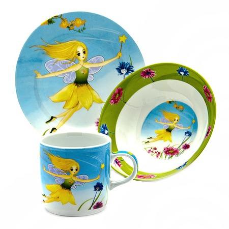 Купить Набор посуды для детей Loraine «Фея»