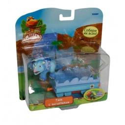 Купить Набор игровой Поезд Динозавров «Тэнк с вагончиком»