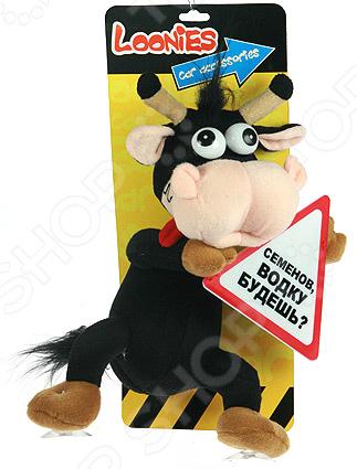 Сувенир для автомобиля «Забавная корова»Другие аксессуары для авто<br>Сувенир Забавная корова это замечательный подарок владельцу автомобиля! Игрушка изготовлена из высококачественных материалов, которые абсолютно безвредны для здоровья человека, не выгорают на солнце и устойчивы к внешним воздействиям. Представленная модель внесет яркий акцент в интерьер и украсит вашу любимую машину.<br>
