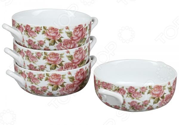 Набор суповых тарелок Rosenberg 9262 набор суповых тарелок rosenberg rgc 325004