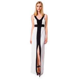 фото Платье Mondigo 7045. Цвет: молочный. Размер одежды: 48