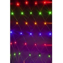 фото Гирлянда-сетка электрическая Holiday Classics «Зимняя фантазия». Высота: 2 м. Длина: 1 м. Количество лампочек: 160