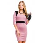 Фото Платье Mondigo 5054. Цвет: розовый. Размер одежды: 46