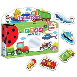 фото Игра развивающая на магнитах Roter Kofer «Транспорт» RK2101-03