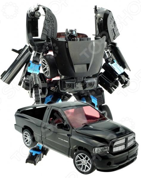 Робот-трансформер Machine boy «Пикап»Роботы и трансформеры<br>Робот-трансформер Machine boy Пикап персонаж из отряда роботов с удивительными способностями трансформации, призванный для жестокой битвы между кланами. Робота можно самостоятельно собрать в машинку для погонь. Прекрасная модель, которая станет приятным дополнением в коллекции. Игра с этим роботом способствует развитию инженерских навыков, воображения, умения использовать форму предмета, а также мелкой моторики рук. Кроме того, тренируется наблюдательность и логическое мышление. Преимущества:  Безопасный и качественный материал.  Легко трансформируется.  Оригинальный дизайн собранной фигурки. Рекомендуется детям от 3х лет.<br>