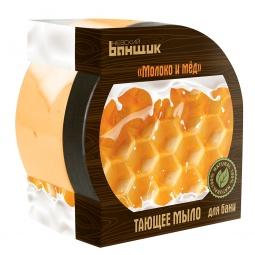 фото Мыло тающее EVA «Мед и молоко»