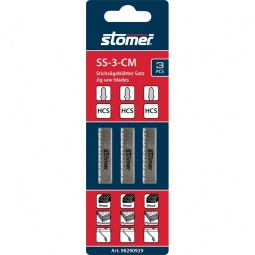 фото Набор пилок для лобзика Stomer SS-3-CM