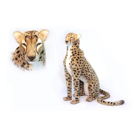 Купить Мягкая игрушка Hansa «Гепард сидящий»