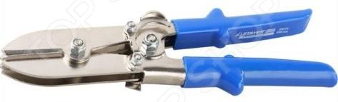 Инструмент для гофрирования листового металла Stayer Profi 23273Кусачки. Пассатижи. Плоскогубцы. Длинногубцы<br>Инструмент для гофрирования листового металла Stayer Profi 23273 подходит для обработки железных, медных, алюминиевых изделий. Процесс гофрирования улучшает свойства металла и повышает его прочность. Инструмент изготовлен из прочной легированной стали, рукоятки представлены ударопрочным пластиком. Допустимая толщина листа для гофрирования 0,6-0,9 мм. Длина инструмента 240 мм.<br>