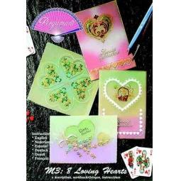 Купить Набор схем для парчмента Pergamano M3 Сердца