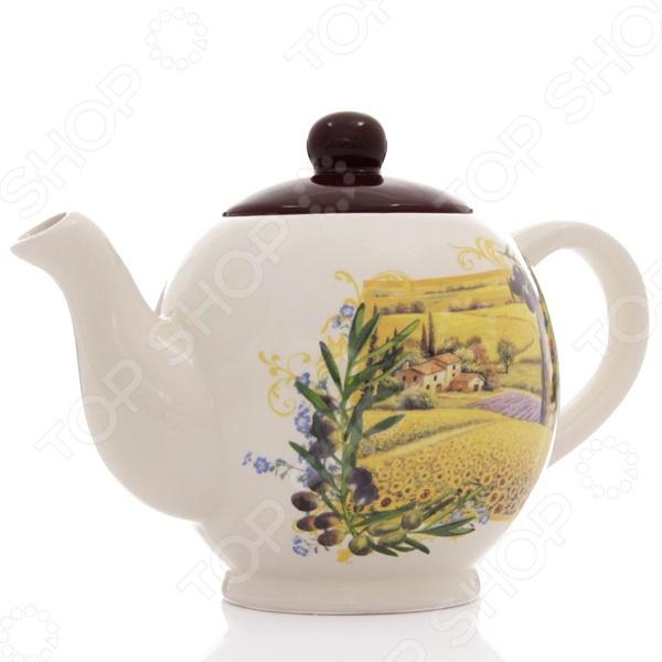 Чайник заварочный Rosenberg 8057Чайники заварочные<br>Чайник заварочный Rosenberg 8057 - красивый и элегантный чайник, который идеально подойдет, как для ежедневного использования, так и для сервировки праздничного стола. Этот чайник станет настоящим открытием для истинных поклонников этого благородного напитка. С его помощью вы сможете полностью раскрыть вкус чая, позволив каждой чаинке отдать свой вкус, цвет и аромат. Изделие выполнено из керамики, которая способна стойко выдерживать высокие температуры. Корпус чайника украшен ярким и красивым рисунком, который надолго сохранит свои насыщенные цвета. Стильный дизайн изделия только дополнит ваш кухонный интерьер и привнесет в него немного весеннего и игривого настроения. Насладитесь насыщенным и неповторимым вкусом вашего любимого чая с заварочным чайником Rosenberg 8057!<br>