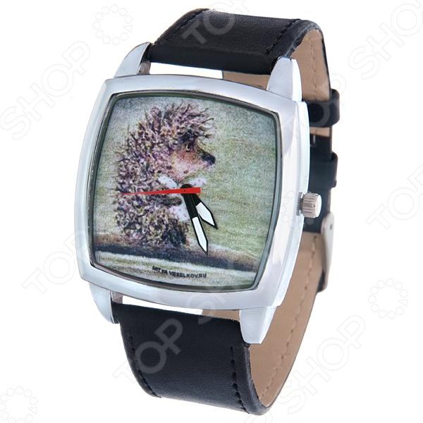 Часы наручные Mitya Veselkov «Ежик плывет» CH