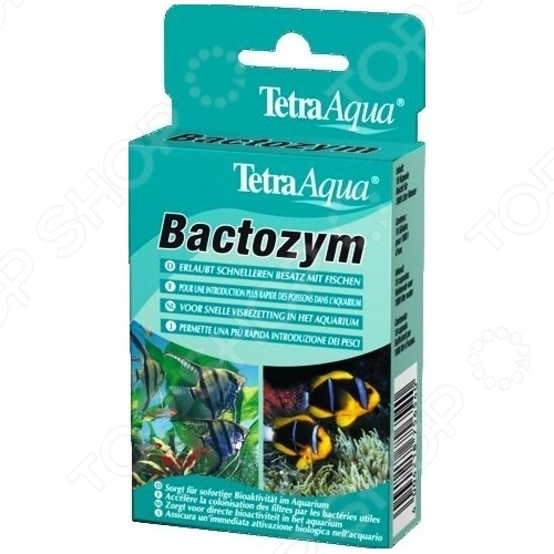 Кондиционер с культурой бактерий для аквариума Tetra Agua Bactozym кондиционер для поддержания параметров воды в аквариуме tetra easybalance