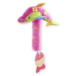 фото Мягкая игрушка развивающая Жирафики «Дельфин с пищалкой»