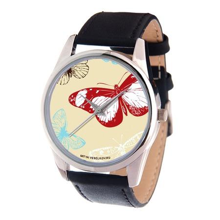 Купить Часы наручные Mitya Veselkov «Цветные бабочки» MV