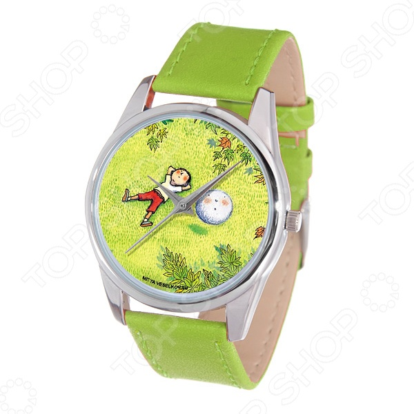 Часы наручные Mitya Veselkov «Карапуз и снежок» Color часы наручные mitya veselkov райский сад color