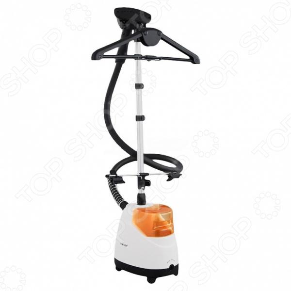 Отпариватель MONSTER MB-10538Отпариватели<br>Отпариватель MONSTER MB-10538 поможет вам быстро и без особых усилий привести одежду в надлежащий и презентабельный вид. В отличие от обычного утюга, отпариватель более деликатен к тканям; не оставляет на одежде заломов, подпалин и лоснящихся пятен. Особенно удобен прибор для отпаривания платьев, пиджаков и штор. Также его можно использовать для дезинфекции мебели, подушек, матрацев и мягких игрушек. Прибор весьма функционален, практичен и удобен в использовании; снабжен резервуаром для воды объемом 1,6 литра, телескопической трубкой, световым индикатором включения и колесами для удобства перемещения. В комплект поставки входит вешалка, зажим для брюк, насадка для чистки и насадка для для отглаживания стрелок на брюках.<br>