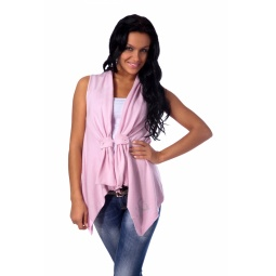 фото Жилет Mondigo 9739. Цвет: бледно-розовый. Размер одежды: 42