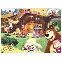 Купить Пазл озвученный Маша и Медведь GT8579