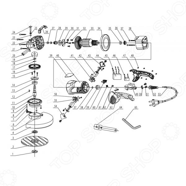 Болгарка макита 9069s схема
