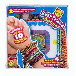 Купить Набор для плетения браслетов с 2-мя станками ALEX «Лучшие друзья»