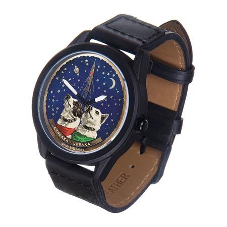 Купить Часы наручные Mitya Veselkov «Белка и Стрелка» MVBlack
